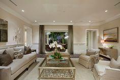 Coastal Casual - traditional - Family Room - Miami - The Decorators Unlimited