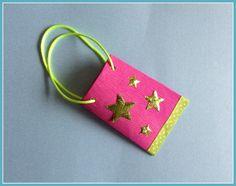 Mini-Geschenktüte pink von Smaragddrache auf DaWanda.com