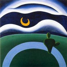 The Moon - Тарсила ду Амарал