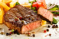 Steak, Chips & Salad for 2 @ Cactus Bar & Grill, Wallington