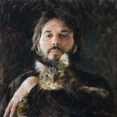Paul G. Oxborough, Me and Murph (self-portrait)