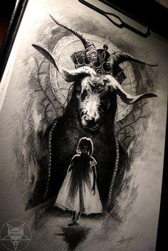 Darkness by AndreySkull.deviantart.com on @DeviantArt