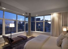 The James hotel New York. Penthouse designed by Piet Boon.