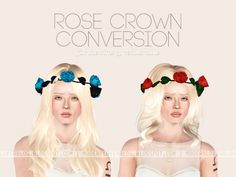 Rose crown conversion at Modern Lovers Blog - Sims 3 Finds