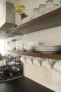60 Clever Clean Kitchen Storage Organization Ideas - Home Diy Kitchen Storage, Kitchen Decor, Kitchen Organization, Organization Ideas, Kitchen Ideas, Cheap Kitchen, Big Kitchen, Open Kitchen Shelving, Rustic Kitchen