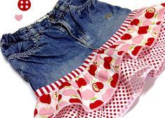 Rock aus einer alten Jeans   DIY LOVE