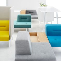Docks furniture system for Ophelis by Till Grosch and Bjorn Meier #furniture