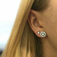 Pandora earrings #PANDORA #PANDORAearring