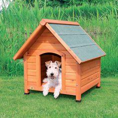 Log Cabin Dog House (S)