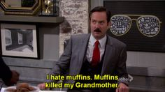 Note to self: do not bring Max muffins ~ Sean Saves the World