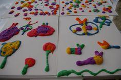 pintura que seca no microondas