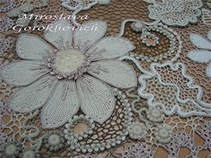 Outstanding Crochet: Miroslava Gorohovich' outstanding crochet art.