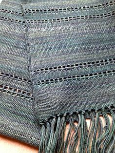 Olives and Mermaids and Wine, oh my...: Weaving Sock