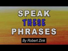 Speak These Phrases to Manifest Anything You Desire - The Law of Attraction - YouTube