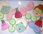 Spa Theme Cookies