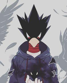 Tokoyami-Boku no Hero Academia - - Buko No Hero Academia, My Hero Academia Manga, Hero Academia Characters, Anime Characters, Tokoyami Boku No Hero, Comic Anime, Kirishima Eijirou, Fanarts Anime, Illustrations