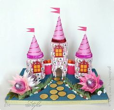 Свит-дизайн День рождения Моделирование конструирование Замок из конфет фото 1