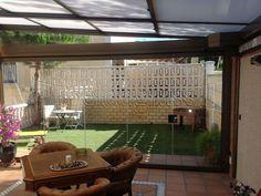 Cerramiento de Terraza con Techo Móvil en Madrid Renovations, Solarium, Home Decor, Outdoor Decor, Orangery