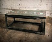 artistic concrete tables - JordanHeathDesign on etsy