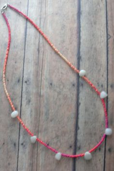 Colorful Ombre Vibrant Spring Summer Orange by Cheshujewelry, $20.00