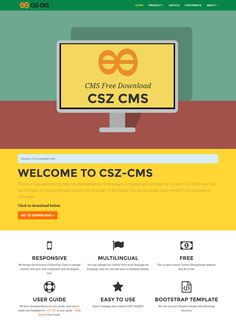- CSZ CMS is an open source web application that allows to manage all content and settings on the websites.  - CSZ CMS was built on the basis of Codeigniter and design the structure of Bootstrap, this should make your website fully responsive with ease. - CSZ CMS is based on the server side script language PHP and uses a MySQL or MariaDB database for data storage. CSZ CMS is open-source Content Management System. And all is free under the The MIT License (MIT).