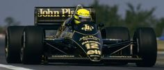 JPS LOTUS - AYRTON SENNA F1 Grand