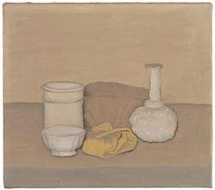 SFMOMA | Explore Modern Art | Our Collection | Giorgio Morandi | Natura morta (Still Life, 1952)