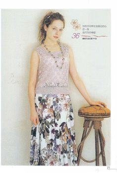T-shirts - Anna Borodai - Picasa ウェブ アルバム Free Crochet, Knit Crochet, Crochet Sweaters, Anna, Crochet Magazine, Crochet Books, Crochet Woman, Journal, Book Crafts