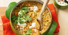 Dhal is a wonderful way to warm up on a cold day. All those spices simmering away with sweet potato and chickpeas in your pan. Definitely one to try.