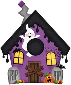 Silhouette Design Store - Search Designs : print and cut Dulceros Halloween, Moldes Halloween, Adornos Halloween, Manualidades Halloween, Halloween Clipart, Halloween Painting, Halloween Prints, Halloween Haunted Houses, Halloween Disfraces