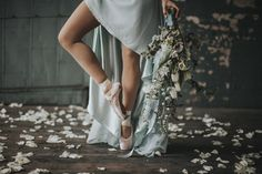 A ballet-themed veils en pointe wedding inspiration shoot with two bridal looks by N. Bridal Shoot, Bridal Looks, Wedding Blog, Wedding Inspiration, Ballet, Romantic, Dance, Veils, Journey