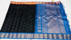 gadwal Pure silk sarees with Temple border and blouse 8999+ shipping each Order what'sapp 9573737490