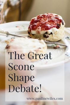 Jean from Delightful Repast joins me for a scone shape debate! Are genuine British scones best served round, or in wedges? Could there be room for both? Find out here. British Scones, Britain, Food And Drink, Wedges, Shapes, Tea, Breakfast, Room, Recipes