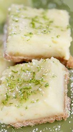 Creamy Lemon (or Lime) Bars