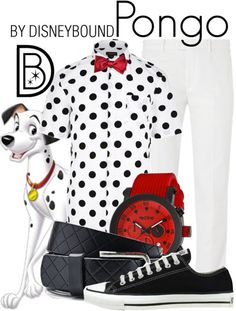 You will be one in 101 in this Pongo outfit inspired by 101 Dalmations.  | Disney Fashion | Disney Fashion Outfits | Disney Outfits | Disney Outfits Ideas | Disneybound Outfits |