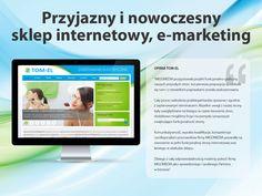 Tom-El. Przyjazny i nowoczesny sklep internetowy, #e-marketing.