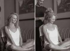 The Blushing Bride Getting Ready  - Candice Accola's Wedding – Best Wedding…