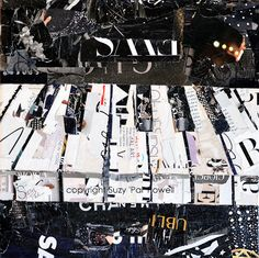 Piano - by Suzy 'Pal' Powell   ~Collage