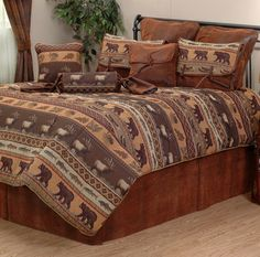 52 Best Bedding For Western Southwestern Cabin And Lodge