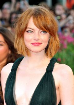 Emma Stone's super-cute new haircut