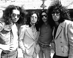 1/3073, after changing their name from Wicked Lester, Gene, Paul, Ace & Peter play their first gig as KISS. #KISS