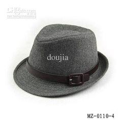 Wholesale solid color boy's fedora hat kids top hat jazz cap kids woolen fedoras children's dicer MZ-0110, Free shipping, $3.45-4.45/Piece | DHgate
