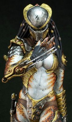 Sheila Female Predator by Joe Dunaway  #predator