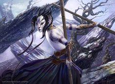 Winter Master - Whirlwind Adept by SteveArgyle on DeviantArt