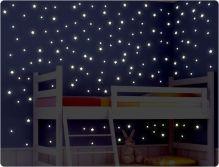 Leuchtfolie Sterne