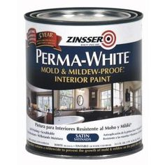 Mold & Mildew-Proof Eggshell Interior Paint - The Home Depot sandfarben Zinsser Perma-White 1 gal. Mold & Mildew-Proof Eggshell Interior Paint - The Home Depot Home Depot, Method Soap, Satin Gloss, Container Size, Painting Kitchen Cabinets, Mold And Mildew, Interior Paint, Interior Design, Bathroom Wall