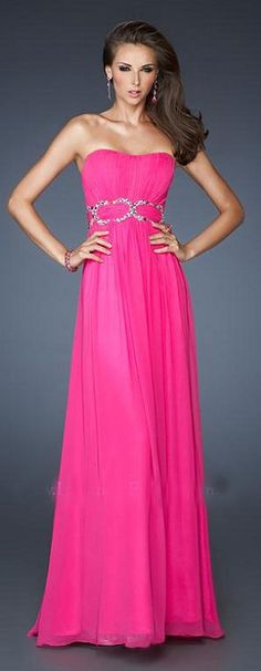 Never worn hot pink before but this dress is making me want to try ...