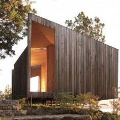 Building: Sauna in the Woods Architect: Panorama Location: Lago Ranco, Chile Why We Like This: Yesterday we posted a top 10 of our favorite saunas and baths . Architectural Digest, Modern Saunas, Chile, Sauna Design, Timber Structure, Small Buildings, Prefab Homes, Interior Architecture, Architecture Wallpaper