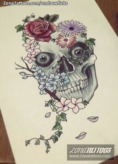 Diseño hecho por Andrés, de Barcelona (España). Si quieres ponerte en contacto con él para un diseño visita su perfil:http://www.zonatattoos.com/andrewflaks  #tattoos #tatuajes