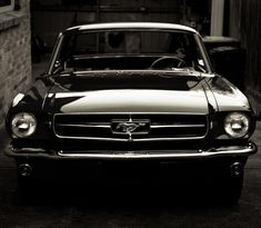 Fancy - 1965 Ford Mustang #mustangclassiccars